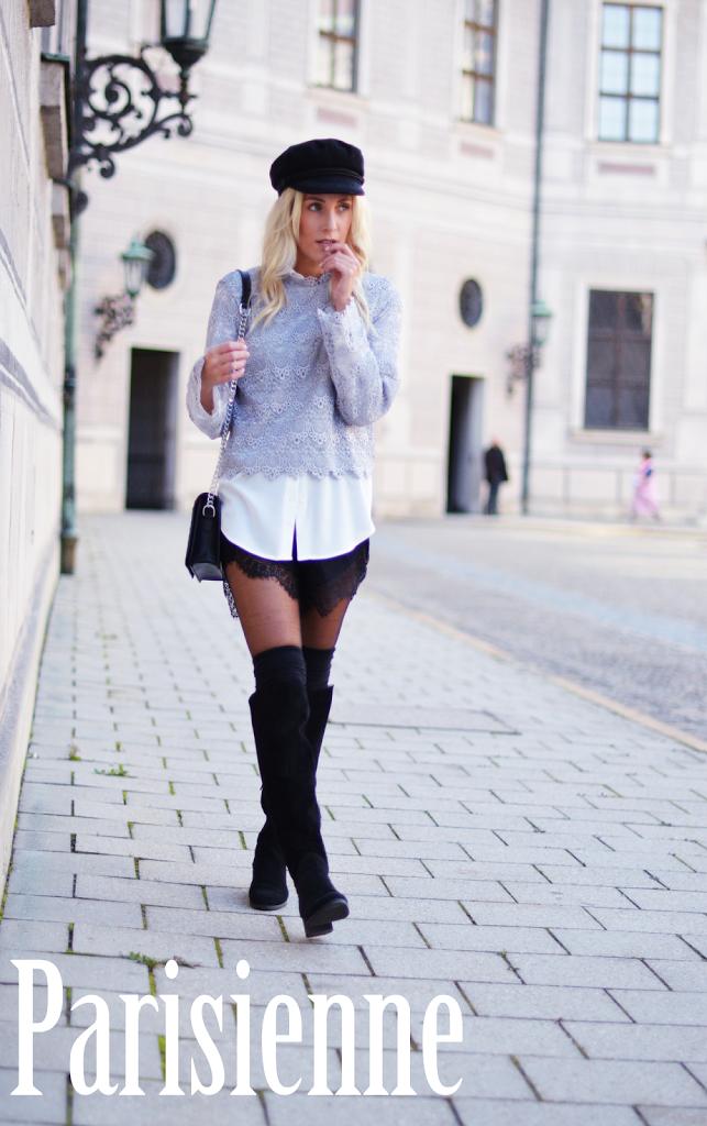 Layering Parisienne TheSkinnyandtheCurvyone Fashionblogger Munich München