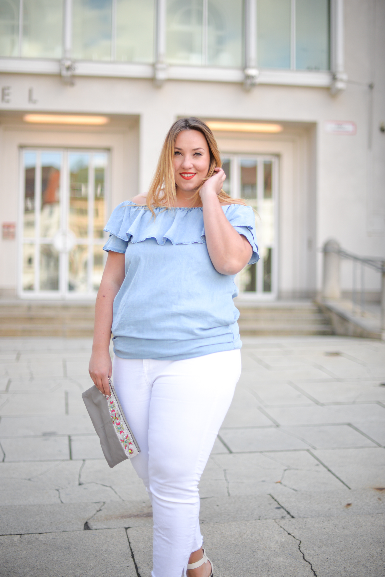 Off Shoulder_Zara Off Shoulder_Plussize Blog_Blogger_Fashion Blog_München_Theskinnyandthecurvyone_Plus-Size Blog Deutschland_Curvy Blogger_German Blogger_German Plus-Size (7 von 15)