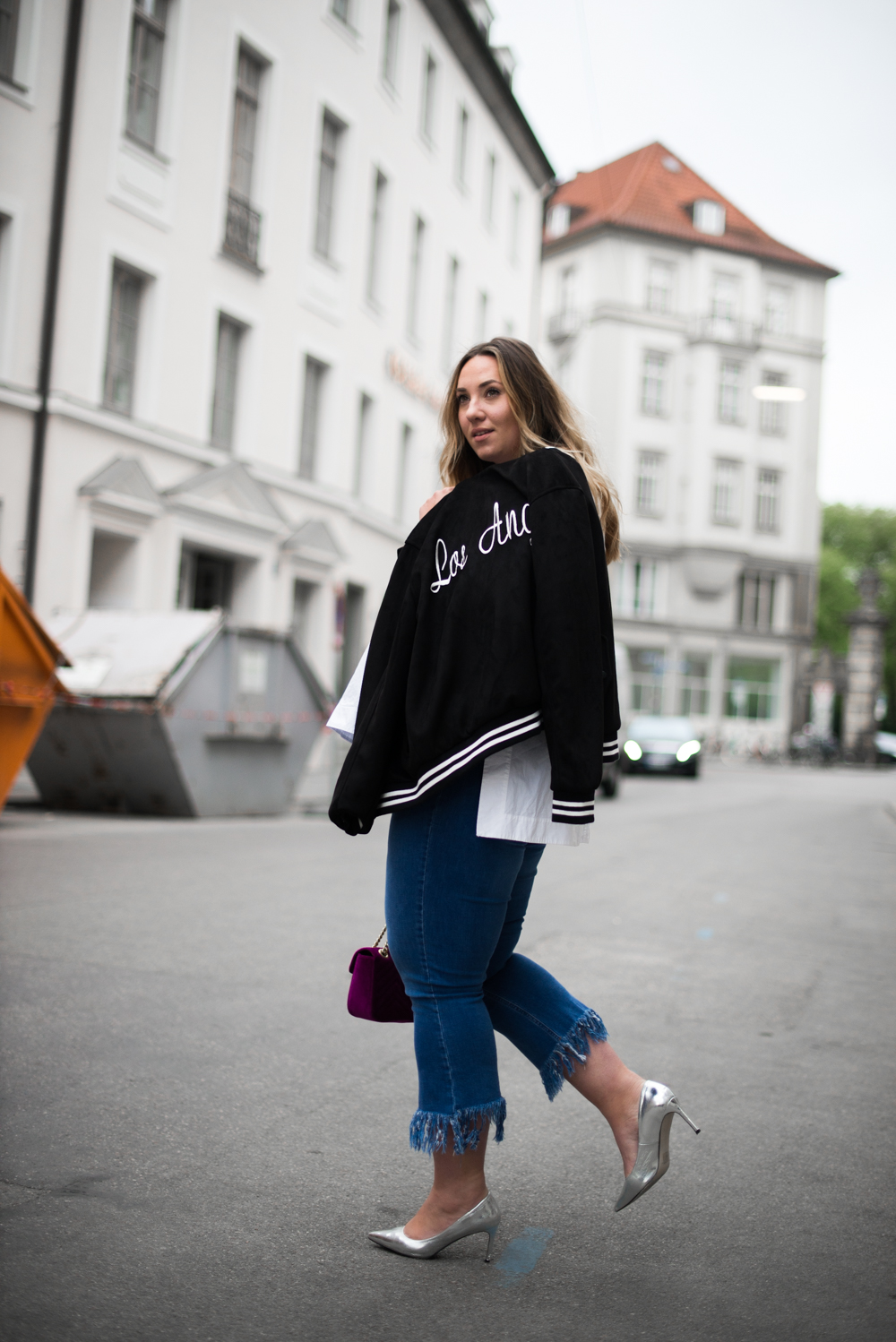 Gucci_The Skinny and the Curvy One_Ms wunderbar_Plus Size Blogger_curve blog_Fashionblog Deutschland_Plus Size Fashion Deutschland_College Jacke_Fringe Jeans (12 von 15)