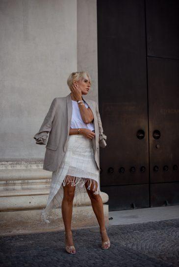 Girl, Fashion, Blazer, Summer